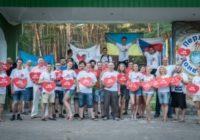 В Донецкой области прошла Арт-акция «Молодежь против ненависти»