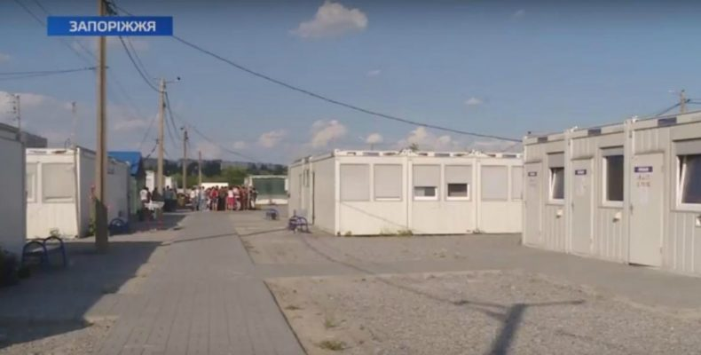 В Запорожье переселенцев могут оставить без света (фото)